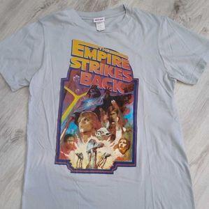 Vtg Star Wars The Empire Strikes Back T-shirt Sz S